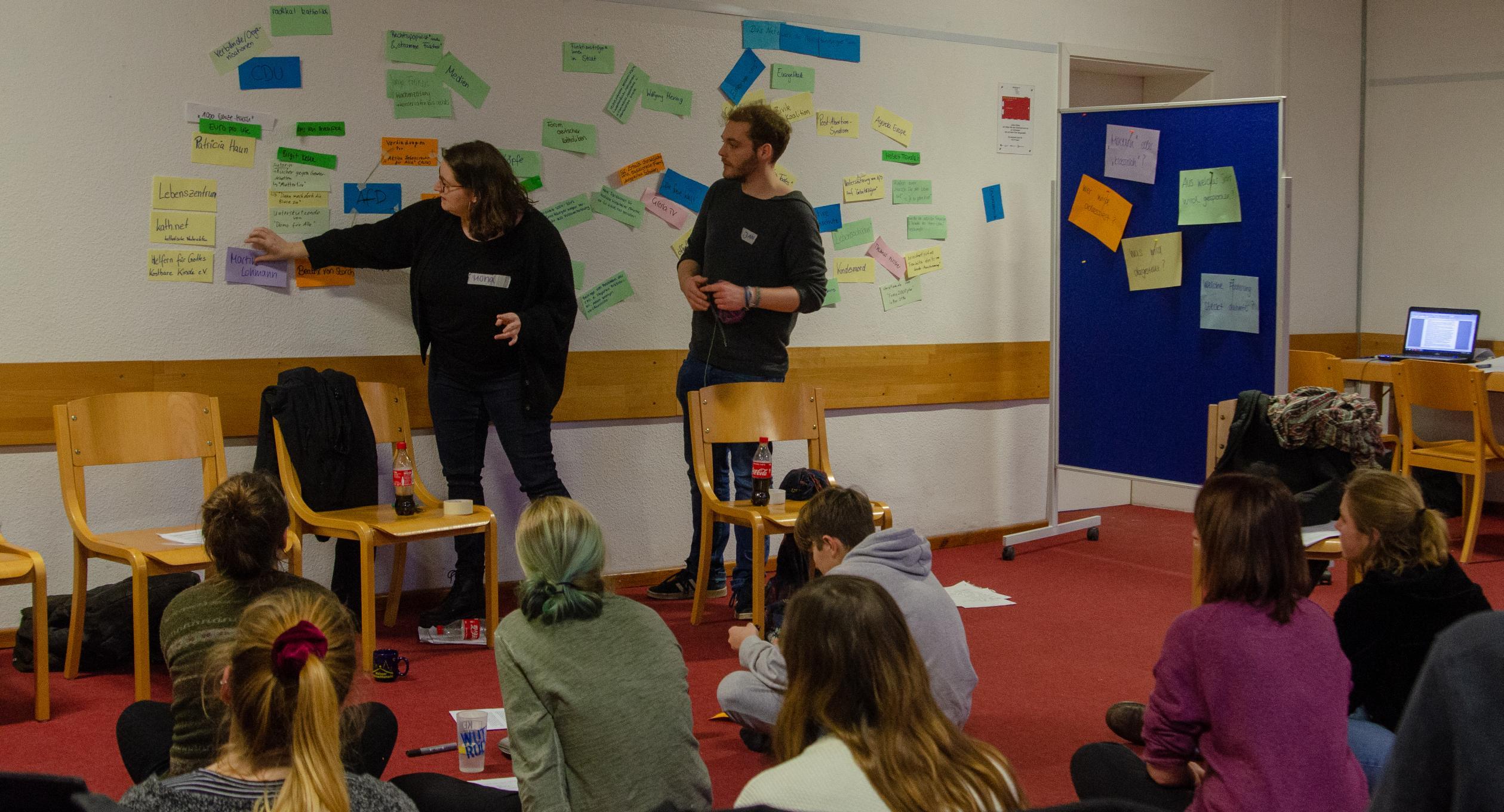 Workshop bei Rosa & Karl 2019