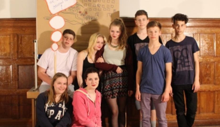 25 Jahre Brandenburg: Barnimer Jugendliche präsentieren Video in Potsdam