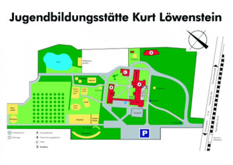 Lageplan des Geländes - Zur Ansicht / Download in größerer Auflösung bitte anklicken