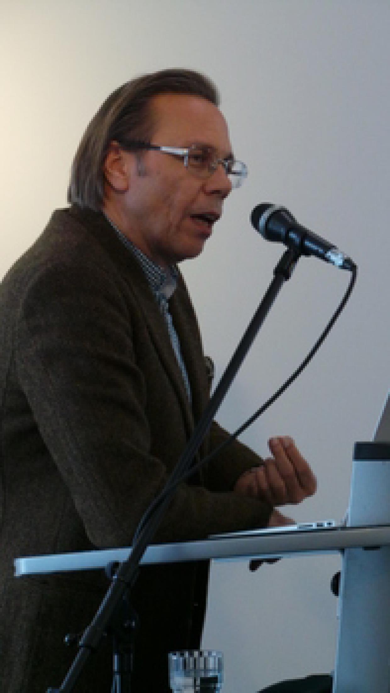 """Prof. Harald Welzer, Stiftung """"Futur Zwei"""" / Europa-Universität Flensburg"""