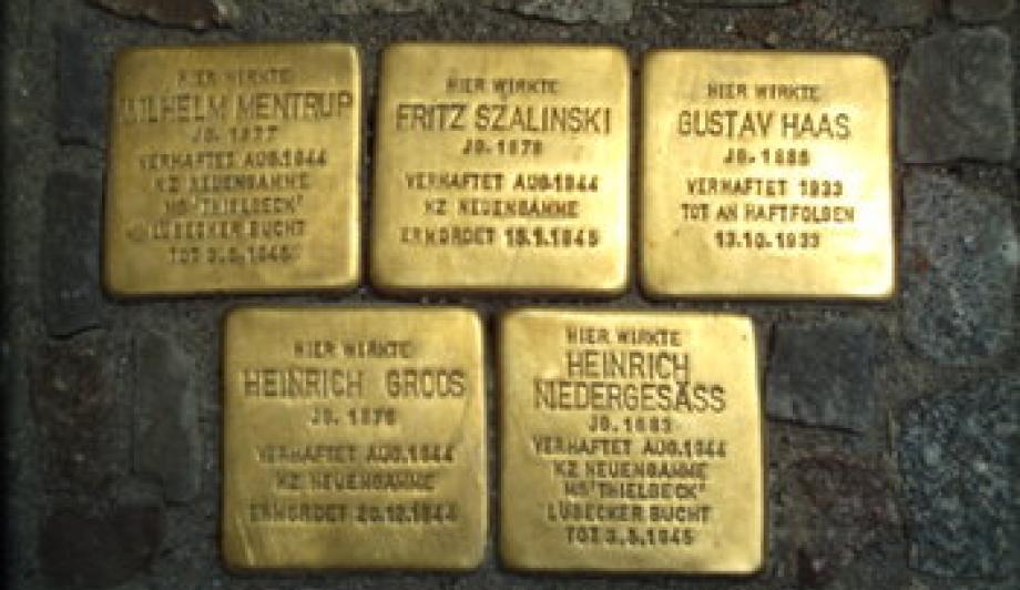Stolpersteine - Foto: Roland1952/Wikipedia