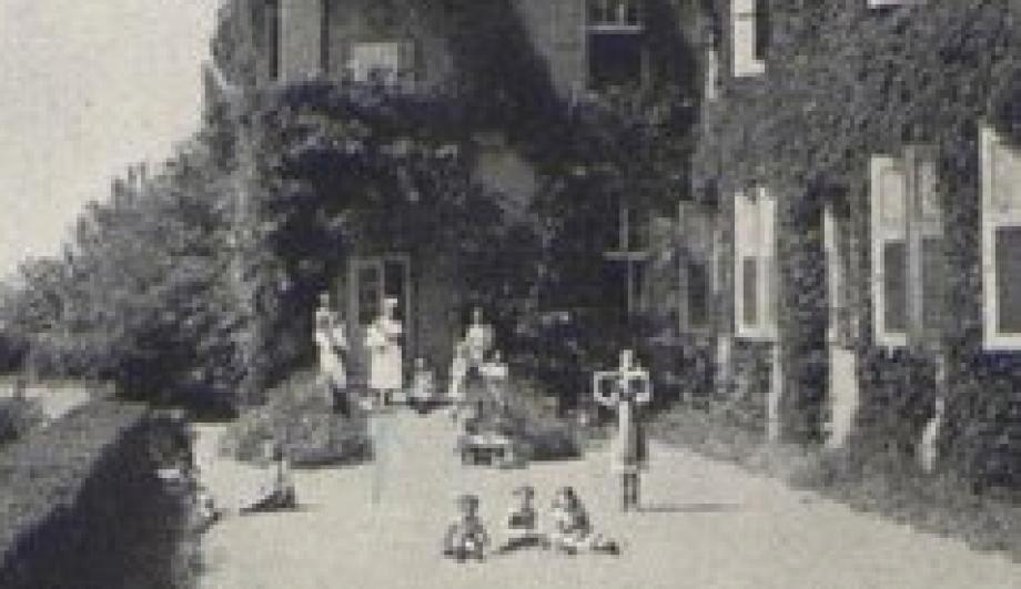 Die Terrasse des Johannaheims