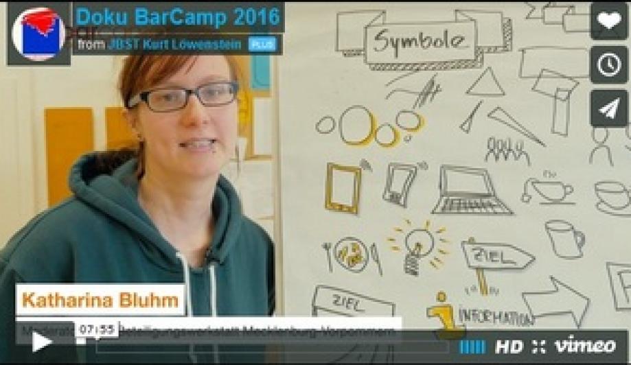 In einem kurzen Film wird die Arbeit auf dem BarCamp dokumentiert und die dahinterstehende Idee erläutert.
