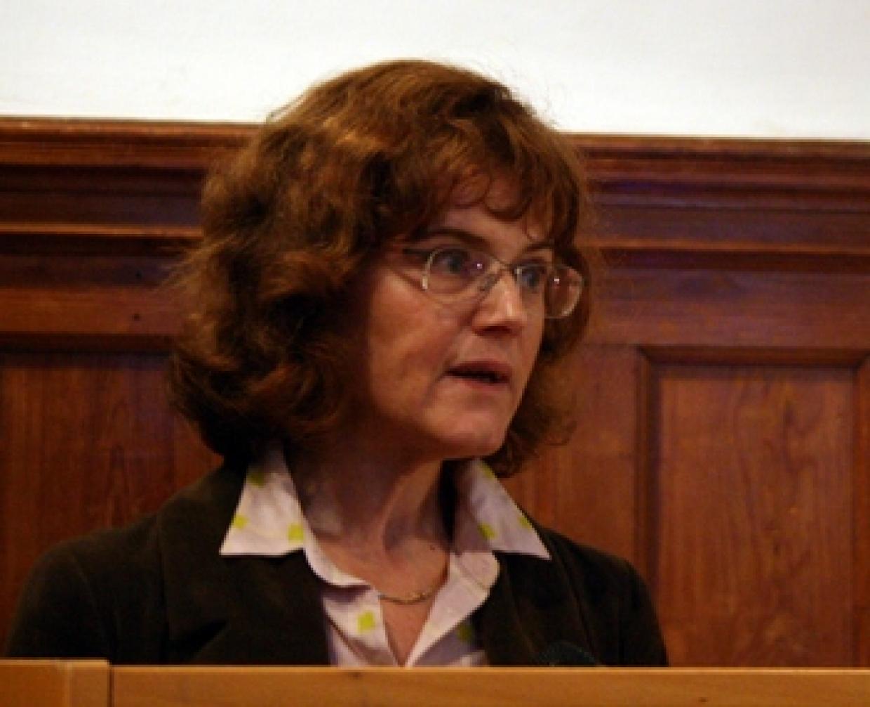 Sylvana Hilliger, Mitarbeiterin der Brandenburger Landesbeauftragten zur Aufarbeitung der Folgen der kommunistischen Diktatur (LAkD)