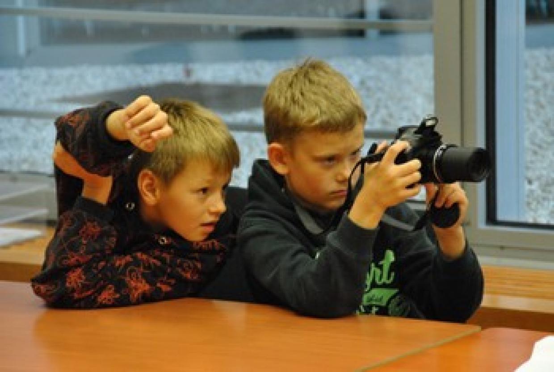 Fotoreporter im Einsatz