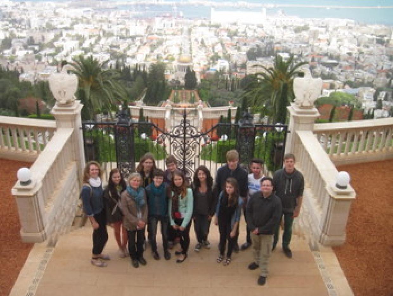 Der Austausch führte die Jugendlichen aus Neuenhagen auch nach Haifa. - Foto: JBS Kurt Löwenstein