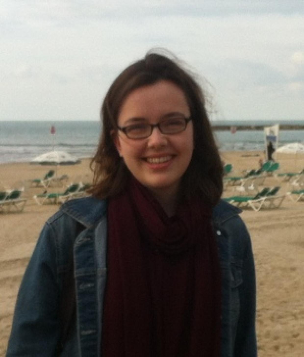 Hannah Kesselmeyer in Israel - Foto: privat