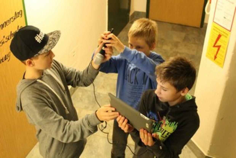 """Die Kinder konnten im Projekt eigene Filme erstellen. - Foto: Projekt """"früh aufgestellt"""""""