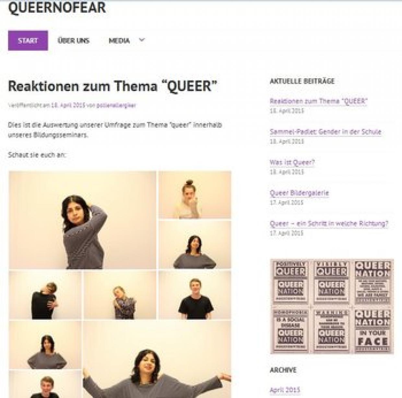 """Blog """"QueerNoFear"""""""