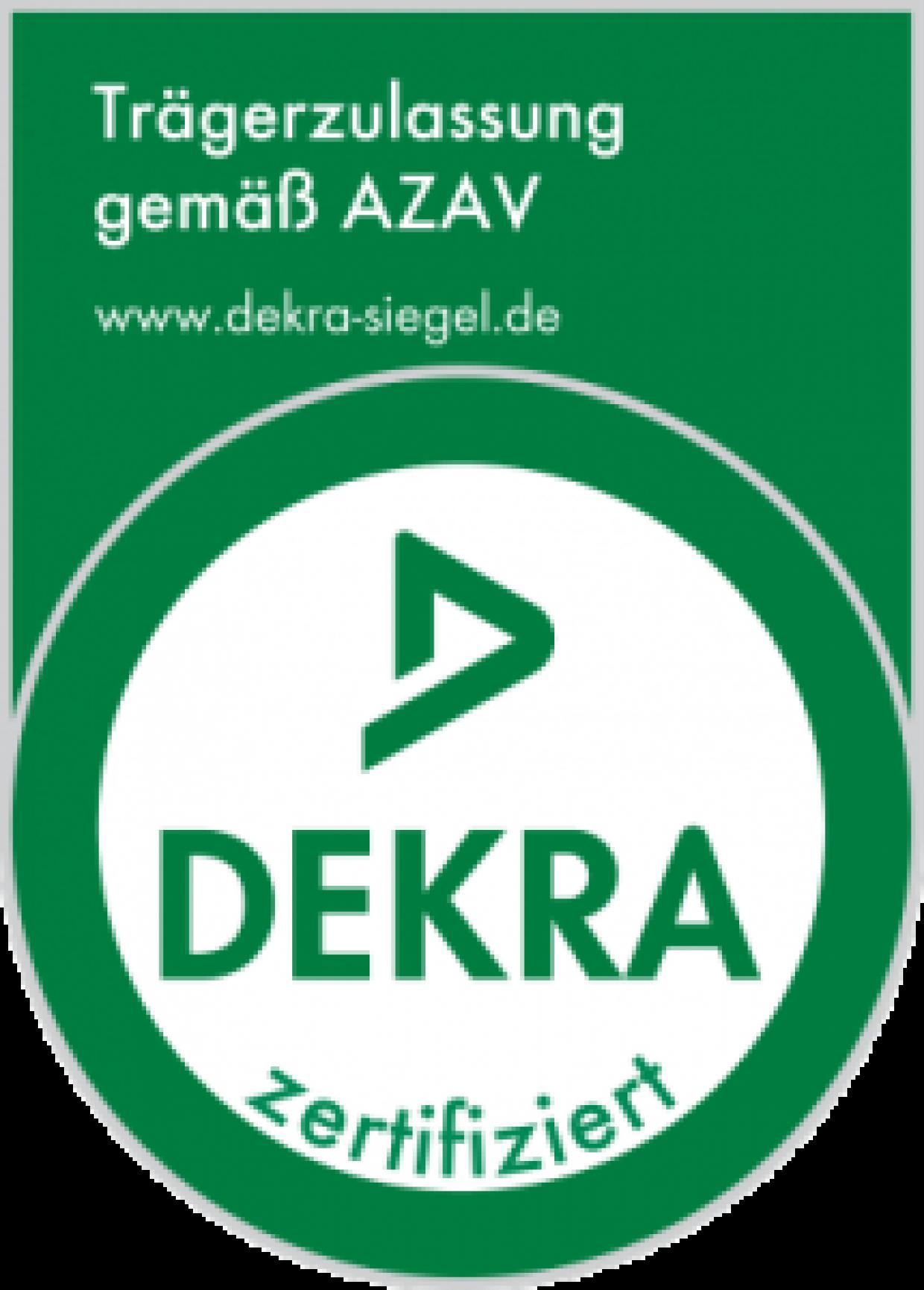 Trägerzulassung gemäß AZAV