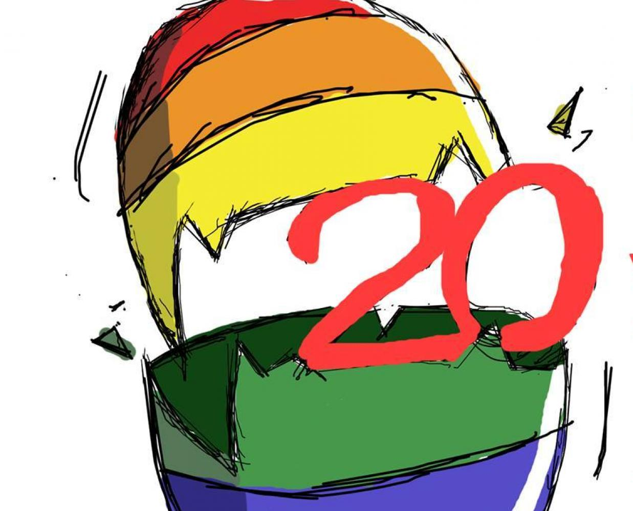 20 years of socialist struggle