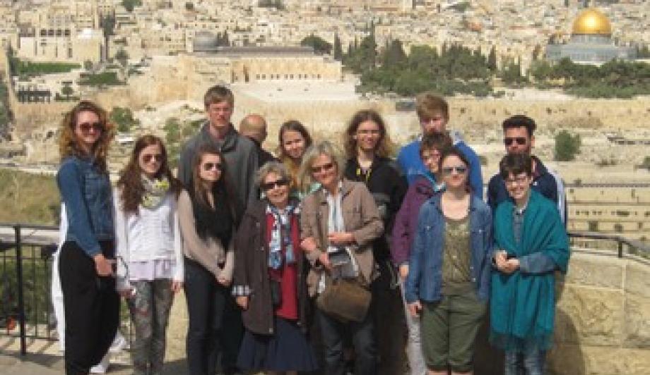 Ausblick vom Ölberg: Jerusalem hat alle beeindruckt.