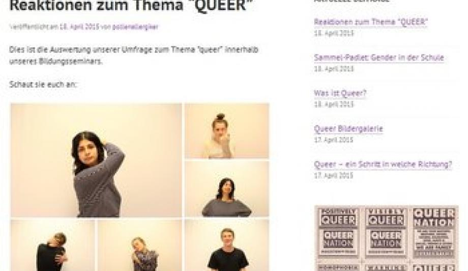 "Blog ""QueerNoFear"""