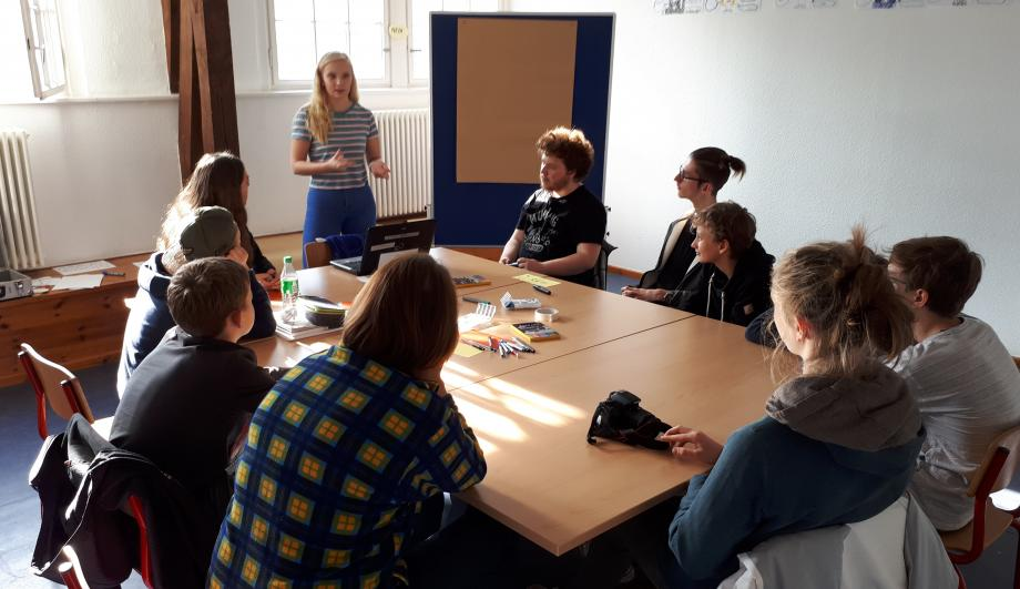 Einige Workshops wurden von den Teilnehmer_innen selbst gehalten.