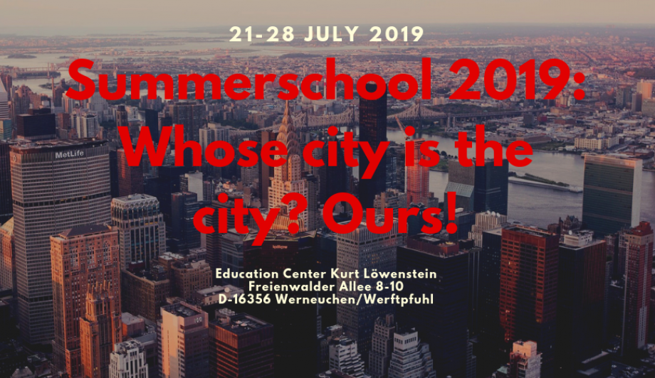Summerschool 2019