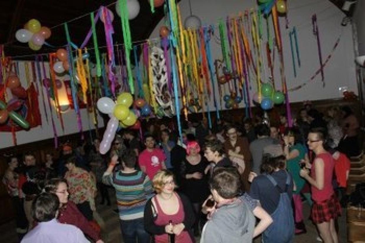 Celebrating New Years Eve five times - Party at Winterschool