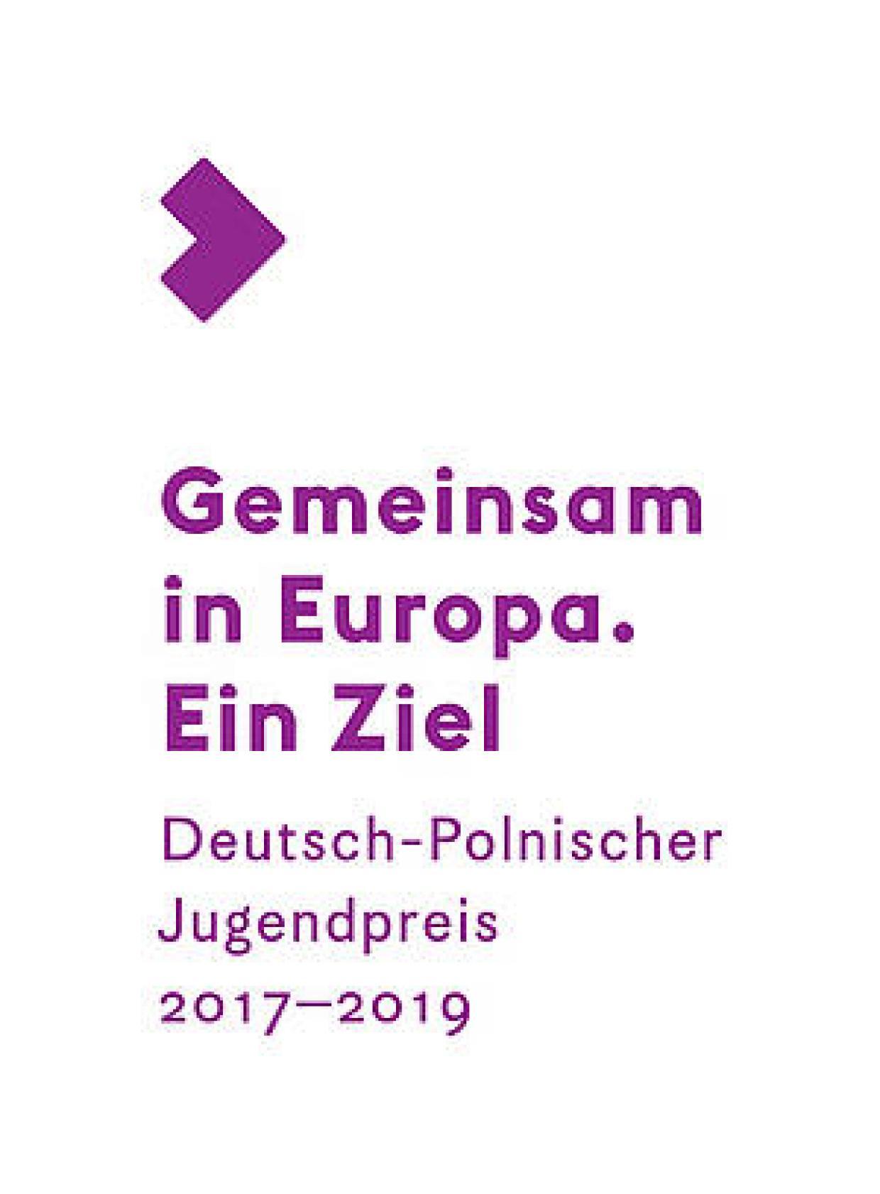Logo Deutsch-Polnischer Jugendpreis 2018