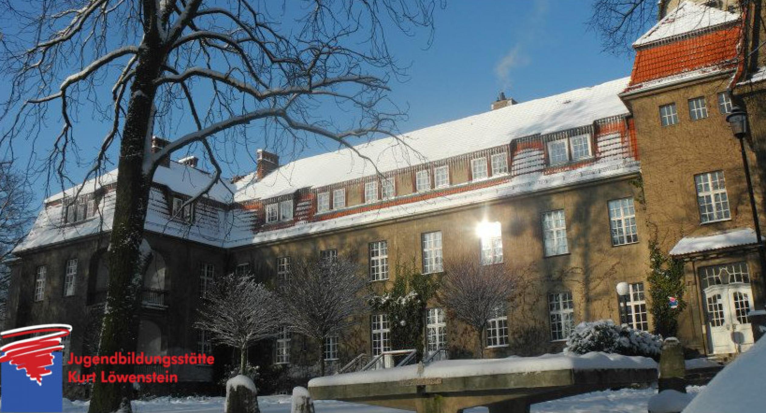 Winter in der Jugendbildungsstätte Kurt Löwenstein
