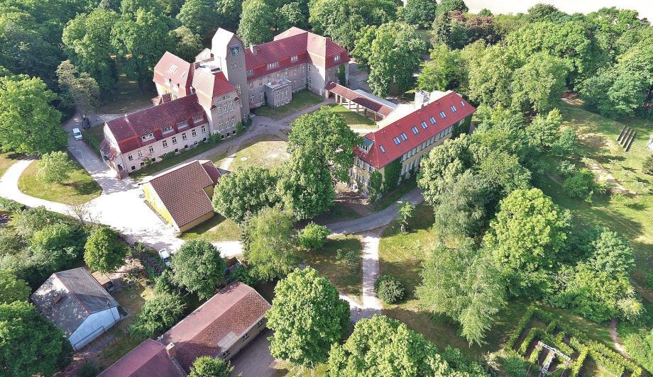 Luftbild Gelände Jugendbildungsstätte Kurt Löwenstein